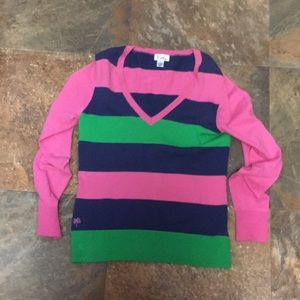 Lilly Pulitzer Striped Sweater S